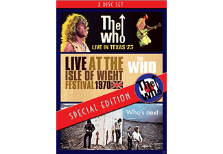 The Who - Special Edition-Texas '75/Isle Of Wight '70/+ - (DVD)