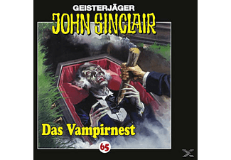 John Sinclair 65: Das Vampirnest - (CD)