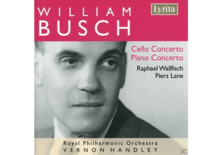 WALLFISCH, LANE, ROYAL PHILHARMONIC - Cello Concerto/Piano Concerto - (CD)