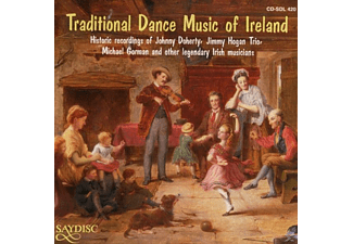 VARIOUS - Traditional Dance Music of Irelan - (CD)
