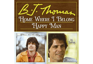 B.J. Thomas - Home Where I Belong/Happy Man [CD]