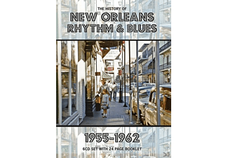 VARIOUS - History Of New Orleans Rhythm & Blues - (CD)