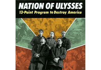 The Nation Of Ulysses - 13 POINT PROGRAM TO DESTROY AMERICA - (CD)