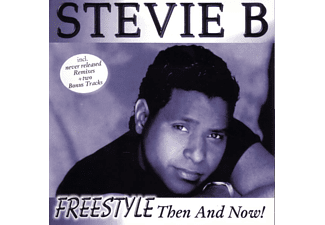 Stevie B - Freestyle-Then And Now - (CD)
