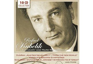 Wiener Philharmoniker, Tschechische Philharmonie, Czech Radio Symphony Orchestra Of Prague, Royal Philharmonic Orchestra, Chicago Symphony Orchestra, The Philharmonia Orchestra - Rafael Kubelik - Legendary And Rare Recordings - (CD)