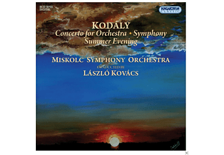 Kovács László - Kodály - Concerto for Orchestra - Symphony - Summer Evening (CD)