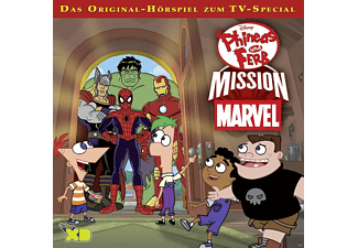 Walt Disney - Phineas & Ferb - Folge 9: Mission Marvel - (CD)
