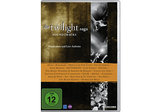 VARIOUS - Die Twilight Saga: Soundtracks - Musikvideos und Live-Auftritte [DVD]