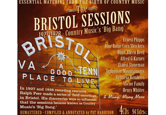VARIOUS - The Bristol Sessions 1927-1928 - (CD)