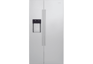 BEKO GN 162330 X Side-by-Side (369 kWh/Jahr, A++, 1820 mm hoch, Edelstahl)