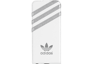 ADIDAS 007795, Flip Cover, iPhone 5s, Weiß/Silber