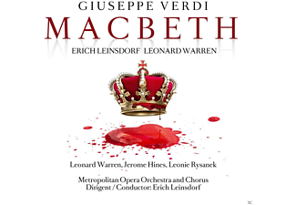 Leonard Warren, The Metropolitan Opera Orchestra And Chorus - Macbeth - (CD)