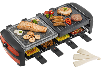 bestron raclette grill arc 800 media markt. Black Bedroom Furniture Sets. Home Design Ideas