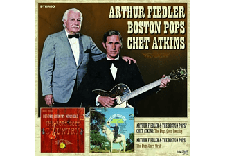 Arthur & Atkins Fiedler - Pops Goes Country & West - (CD)
