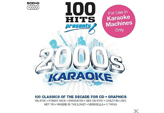 Karaoke - 100 Hits-Presents 2000s - (CD)