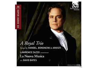 Lawrence Zazzo (KTen), La Nuova Musica, David Bate - A Royal Trio - (CD)