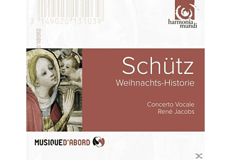 Rene Concerto Vocale & Jacobs - Weihnachts-Historie - (CD)