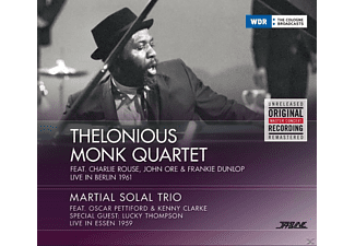 Martial Solal Trio, Thelonious Quartet Monk - Thelonious Monk Quartet - Live In Berlin 1961 - (CD)