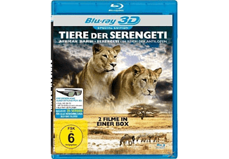 Tiere der Serengeti (3D-Special Edition) [3D Blu-ray]
