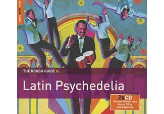 VARIOUS - The Rough Guide to : Latin Psychedelia - (CD + Bonus-CD)