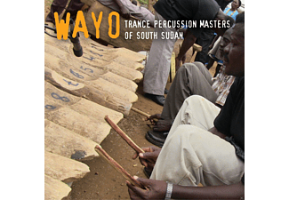 Wayo - Trance Percussion Masters of South Sudan - (CD)