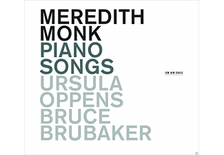 Ursula Oppens, Bruce Brubaker, Meredith Monk - Piano Songs - (CD)