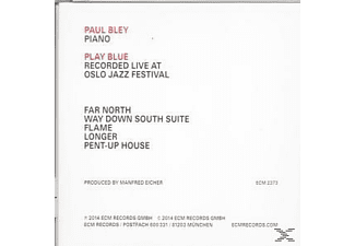 Paul Bley - Play Blue - Live In Oslo - (CD)