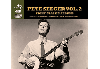 Pete Seeger - Pete Seger Vol. 2 (8 Classic Albums) - (CD)