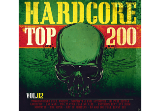 VARIOUS - Hardcore Top 200 Vol. 2 - (CD)