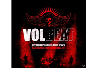 Volbeat - LIVE TRAC  INTND HELL/ABOVE HEAVEN (LTD.DELUXE) - (CD + DVD Video)