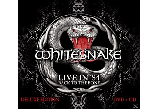 Whitesnake - Live In 1984-Back To The Bone (Digipak) - (CD)