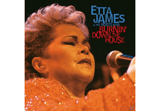 James Etta - Burnin' Down The House - (CD)