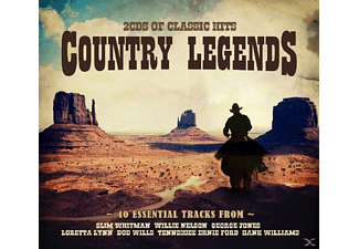 VARIOUS - Country Legends - (CD)