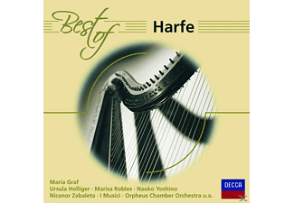 Maria Graf, Graf/Holliger/Zabaleta/+ - BEST OF HARFE - (CD)