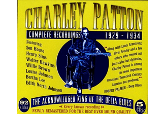 Charley Patton - Complete Recordings 1929-1934 - (CD)
