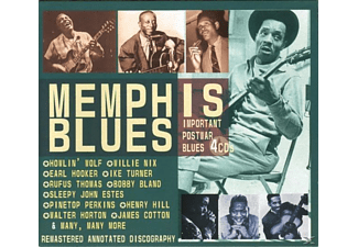 VARIOUS - Memphis Blues.Important Postwar Bl - (CD)