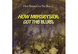 VARIOUS - How Britain Got The Blues 2: Mersey - (CD)