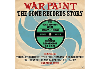 VARIOUS - War Paint-Gone Records Story 1957-62 - (CD)