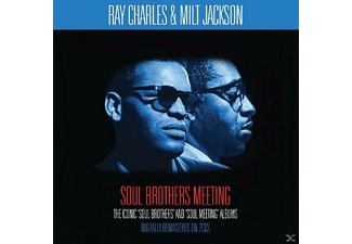 Milt/ Ray Charle Jackson - Soul Brothers Meeting - (CD)
