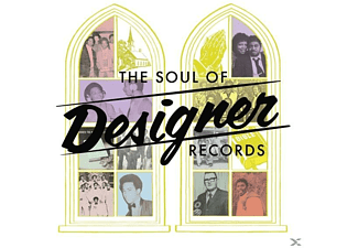 Various - The Soul Of Designer Records (4CD) - (CD)