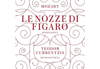 Teodor Currentzis - Mozart: Le Nozze Di Figaro (Highlights) [CD]