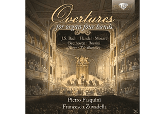 Pasquini,Pietro/Zuvadelli,Francesco - Overtures Played On Organ 4-Hands - (CD)