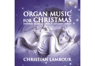 Christian Lambour - Organ Music For Christmas - (CD)