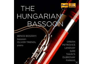 Bence / Oliver Triendl Boganyi - The Hungarian Bassoon - (CD)