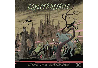Espectrostatic - Escape From Witchtropolis - (LP + Download)