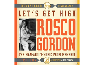 Roscoe Gordon - Let's Get High.Man-About-Music Fro - (CD)