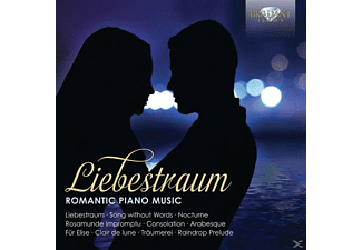 Misha Goldstein - Liebestraum-Romantic Piano Music - (CD)