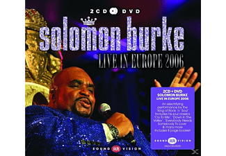 Solomon Burke - Live In Europe 2006 (2cd+Dvd) [CD]