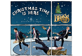 The Canadian Brass - Christmas Time is here - (CD)
