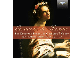 Fabio Antonio Falcone - The Keyboard School At Gesualdo's Court - (CD)